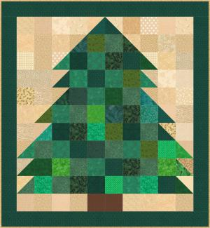 Miniature Christmas Tree Quilt